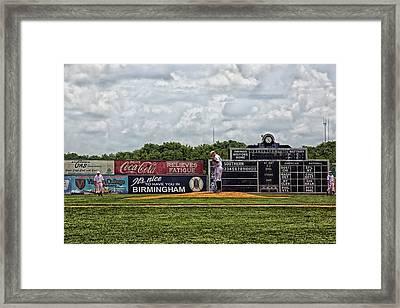Rickwood Classic Baseball - Birmingham Alabama Framed Print