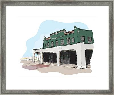 Rickwood Field Framed Print