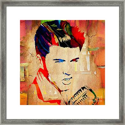 Ricky Nelson Collection Framed Print