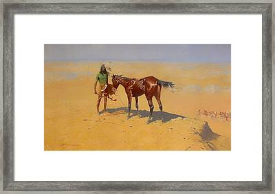 Ridden Down Framed Print by Mountain Dreams