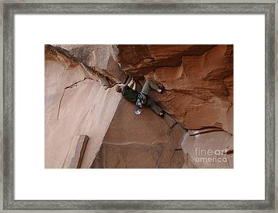 Riddle Of The Rock Framed Print