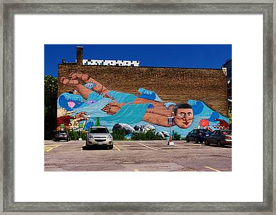 Ride The Wave Framed Print by Nicky Jameson