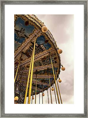 Ride With Me In Paris Framed Print