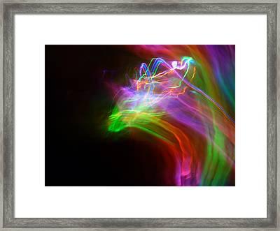 Rider Framed Print by Sheldon Landa