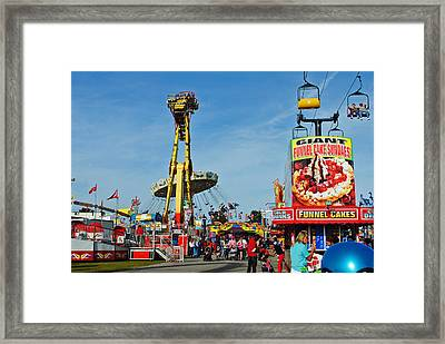 Rides Rides Rides Framed Print by Skip Willits