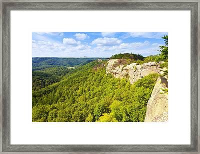 Ridge Top View Framed Print