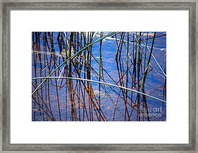 Ridges Reflection Framed Print by Jim Rossol