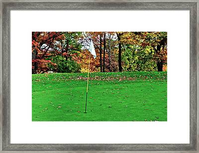 Ridgewood Golf And Country Club Framed Print by Frozen in Time Fine Art Photography