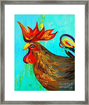 Ridiculously Handsome Framed Print by Eloise Schneider
