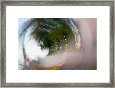 Ridin' A Concrete Wave Framed Print by Steve Belovarich