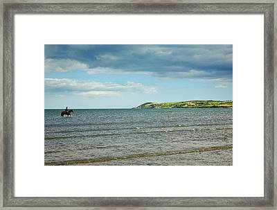 Riding Out On The Cunnigar, Dungarvan Framed Print by Panoramic Images