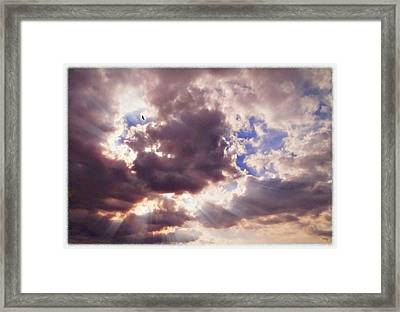 Riding The Invisible Framed Print by Glenn McCarthy Art and Photography