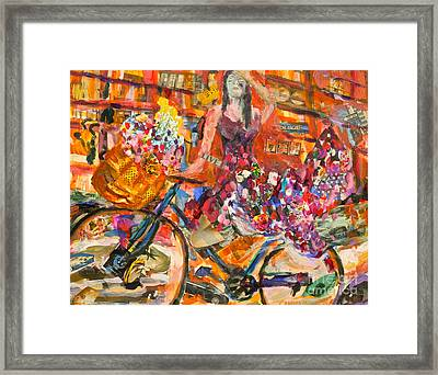 Riding Through Life Framed Print by Michael Cinnamond