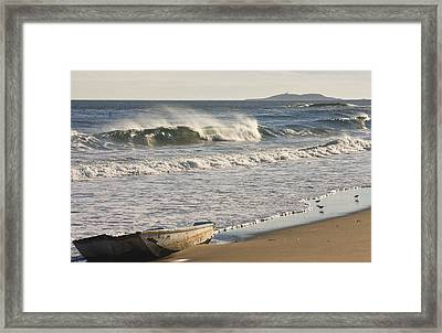 Ried State Park Beach On The Maine Coast Framed Print by Keith Webber Jr