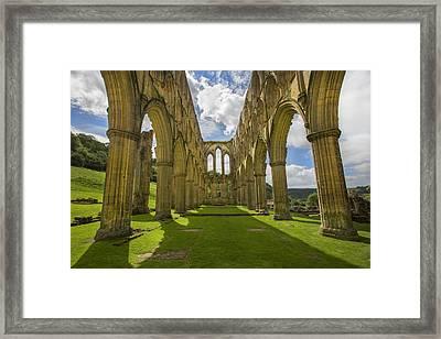 Rievaulx Abbey Framed Print