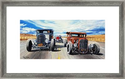 Riff Raff Race 3 Framed Print