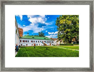 Riflemen Guard Chamber Framed Print
