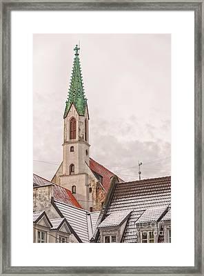 Riga St Johns Church Framed Print by Antony McAulay
