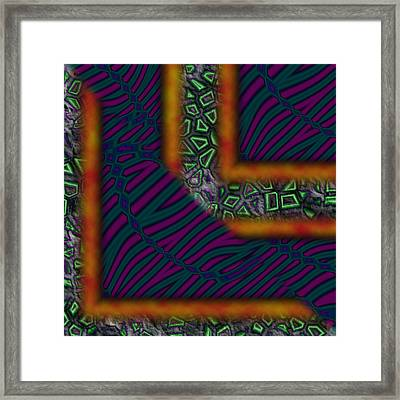 Right Angles Framed Print by Christopher Gaston