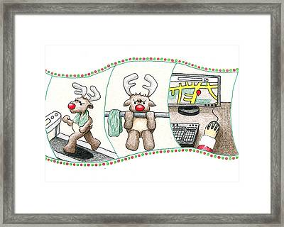 Right Before X'mas Framed Print by Keiko Katsuta