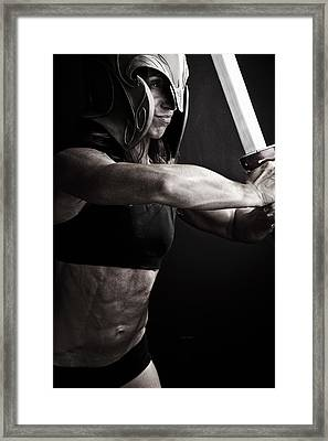 Right Proper 300 Framed Print by Monte Arnold