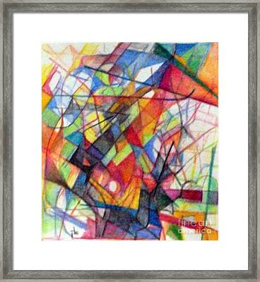 Righteous Step 4  Framed Print by David Baruch Wolk