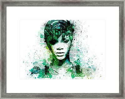 Rihanna 5 Framed Print