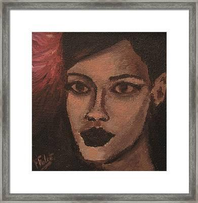 Rihanna Framed Print by Francois Falet