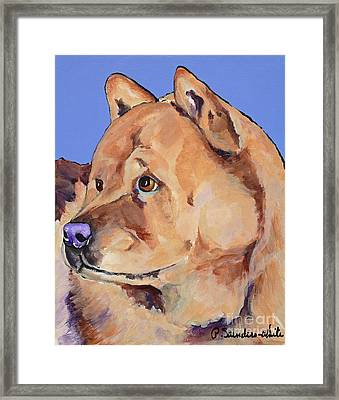 Riley Framed Print by Pat Saunders-White
