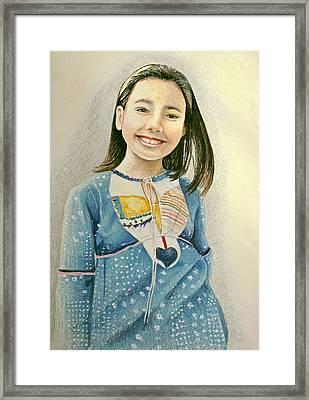 Rina Framed Print