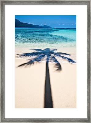 Rincon Shadow Framed Print by Renee Sullivan