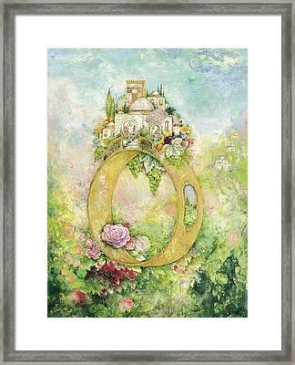 Ring And Rose Framed Print