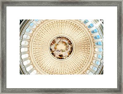Ring Around The Capitol Framed Print