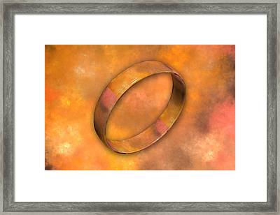 Ring Framed Print