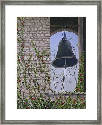 Ring My Bell Framed Print