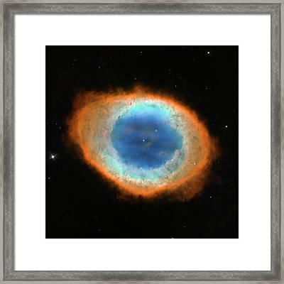 Ring Nebula M57 Framed Print by Nasa/esa/hubble Heritage Team/stsci/aura