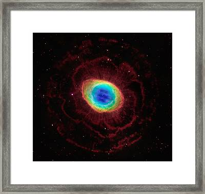 Ring Nebula Framed Print by Georgia Fowler