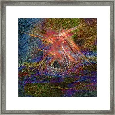 Ring Of Fire Framed Print by Michael Durst
