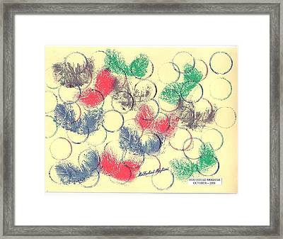 Ring Of Marriage 01 Framed Print by Mirfarhad Moghimi