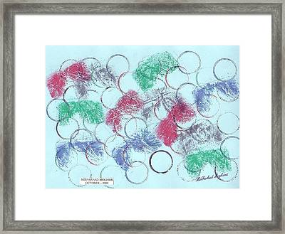 Ring Of Marriage 02 Framed Print by Mirfarhad Moghimi