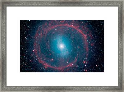 Ring Of Stellar Fire Framed Print by Celestial Images
