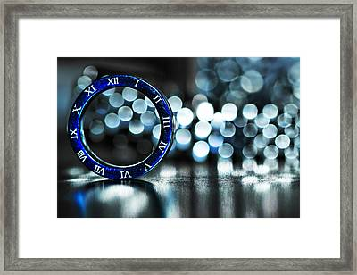 Ring Of Time Framed Print by Suradej Chuephanich