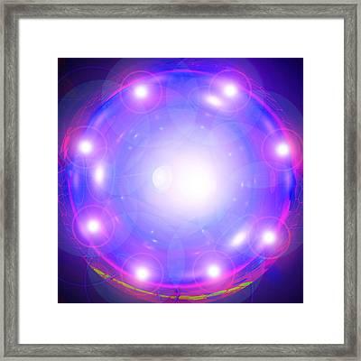 Ring-portal Framed Print by Ramon Labusch
