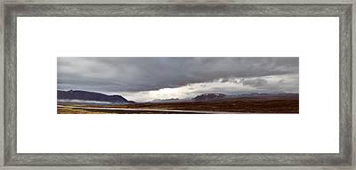 Ring Road Iceland Framed Print by Dirk Ercken