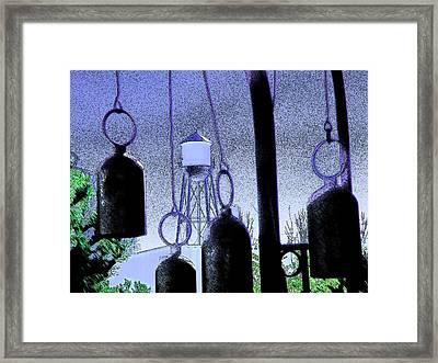 Ring Them Bells Framed Print by Lenore Senior