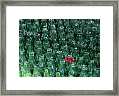 Ring Toss Framed Print