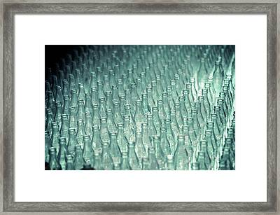 Ring Toss Coca Cola Bottles Framed Print by Yo Pedro