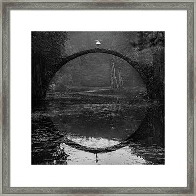 Ring Framed Print by ?ukasz Koz?owski