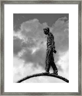 Ring Walker II Framed Print