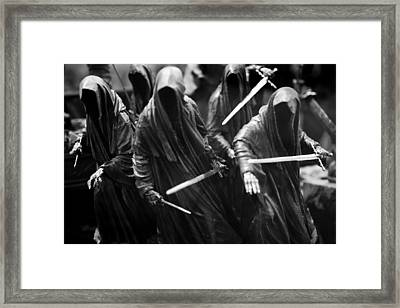 Ring-wraiths Framed Print by Nathan Rupert